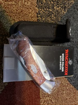 Winchester Wood Folder with Sheath for Sale in Chandler, AZ
