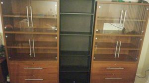 Cabinet and TV Center + Bookshelf for FREE for Sale in Newport Beach, CA