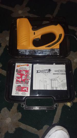 ** Like NEW** Arrow Fastener Machine ETFX50-Electric Pro Heavy-Duty Staple & Nail Gun for Sale in Tempe, AZ