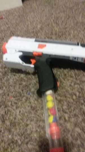 Nerf gun shoots fast and hard for Sale in Indianapolis, IN