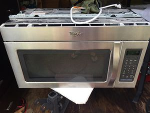 Whirlpool Stainless steel built in microwave for Sale in Hillsboro Beach, FL
