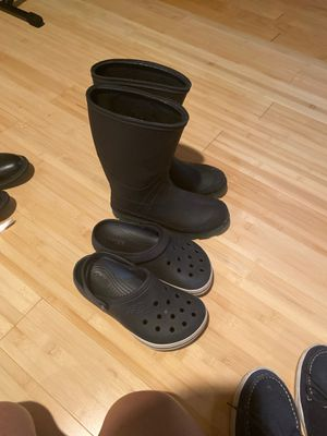 Rain boots sz 6 for Sale in Arlington Heights, IL