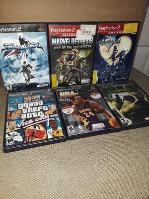 PS2 GAMES for Sale in South El Monte, CA