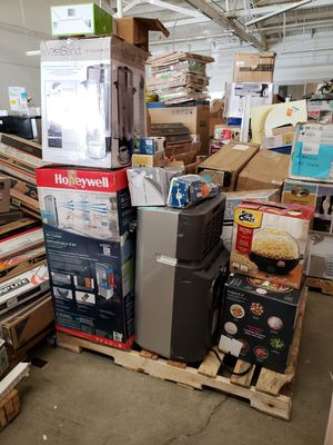 (Damaged) Mixed pallets of Juicers, vacuums, A/C's, kitchen appliances, etc.. for Sale in Los Angeles, CA