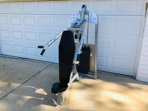 Bench Press - Chest Press - Shoulder Press - Work Out - Hoist - Gym Equipment - Fitness for Sale in Downers Grove, IL