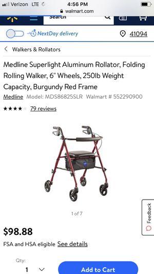 Medline Superlight Aluminum Rollator for Sale in Walton, KY