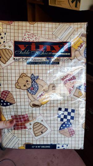 Teddy bear tablecloth NEW for Sale in Escondido, CA