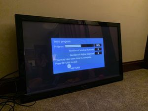 "Panasonic Viera 50"" Plasma TV with attached wall mount for Sale in Cleveland, OH"