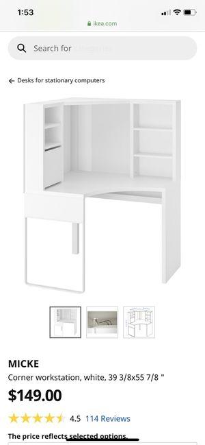 IKEA Corner Workstation Desk for Sale in San Diego, CA