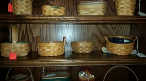 Longaberger booking baskets for Sale in Arlington, TX