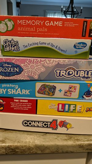 Board games for kids and family for Sale in Crofton, MD
