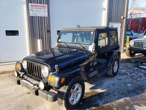2000 Jeep Wrangler Sahara 4x4 for Sale in Ashland, MA