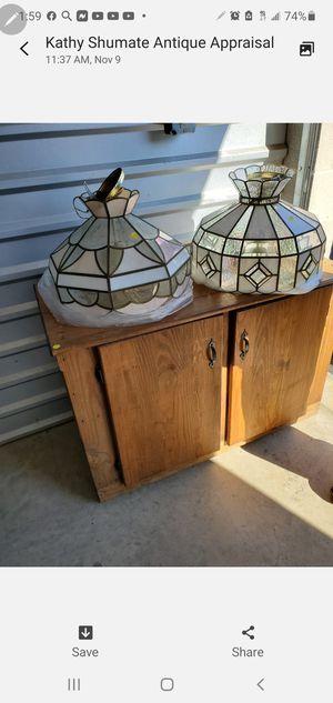 2 Antique Lamps for Sale in Manassas, VA