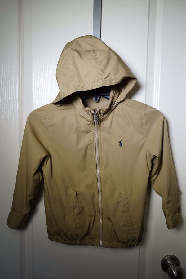 Wind Breaker Jacket-Hoodie, Polo, Kids size 5