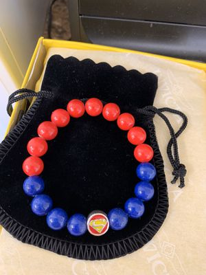 Superman Beaded Bracelet for Sale in Upper Marlboro, MD