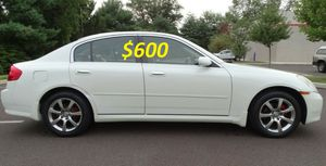 ✅✅💲6OO Urgent sale! Super2005 Infiniti G35 Runs and drives excellently.❇️❇️ for Sale in Oklahoma City, OK