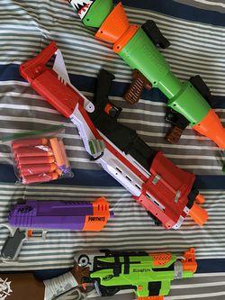 Nerf Gun Set, Some Fortnite for Sale in Santa Clara,  CA