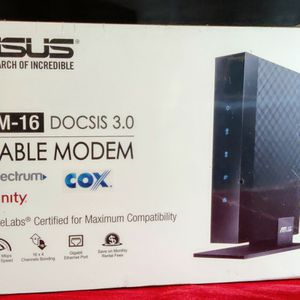 ASUS CM-16 High Speed 16 x 4 Cable Modem 686Mbps | XFINITY | COX for Sale in Foothill Farms, CA