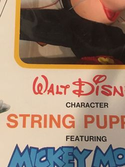 Walt Disney Mickey Mouse String Puppet for Sale in Stoughton,  MA
