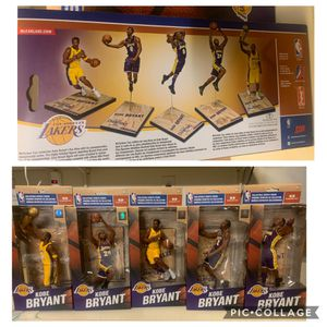 Kobe Bryant Mcfarlane set - MINT UNOPENED for Sale in Rosemead, CA