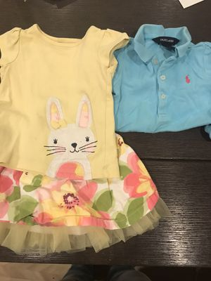 18 month cute Easter Gymboree outfit & Ralph Lauren Dress for Sale in Silver Spring, MD