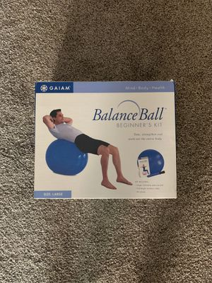 Fitness - Balance Ball for Sale in Sun City, AZ