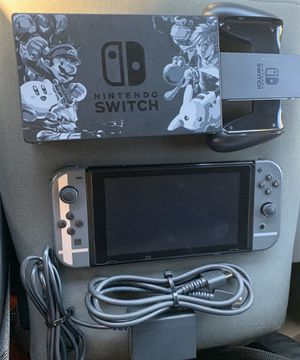 Nintendo switch smash bros edition Excellent for Sale in Huntington Park, CA