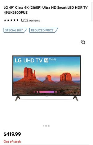 "LG 49"" Smart TV for Sale in Chevy Chase, MD"