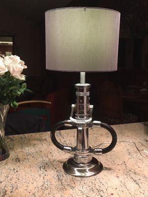 Antique crome 2 1-2 in. Fire nozzle lamp. for Sale in Los Angeles, CA