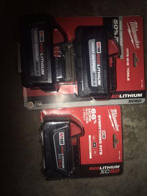 200 nuevas 2 pilas 6,0 y 1 pila 5,0 for Sale in Hayward, CA
