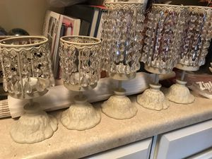 Candle holders 5 total for Sale in Portland, OR