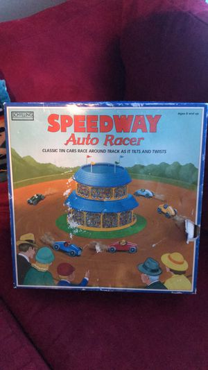 Old Speedway Auto Racer Collectable Toy for Sale in North Las Vegas, NV