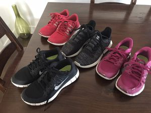 Women's running shoes lot 7.5 Nike Adidas for Sale in Los Angeles, CA