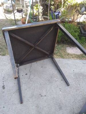 vintage wooden folding table for Sale in Burbank, CA