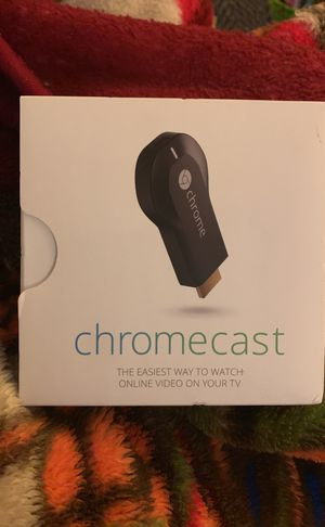 Chromecast Online Video TV - HDMI plug in for Sale in Nashville, TN