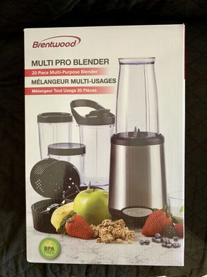 Brentwood Appliances 20 Piece Multi Pro Blender Set for Sale in Miami Beach, FL
