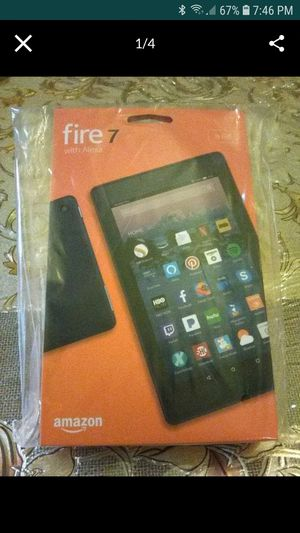 Tablet. Amazon. Fire 7 with Alexa for Sale in Gibbsboro, NJ