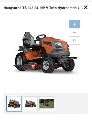 Husqvarna TS 348 24 -HP V-Twin Hydrostatic 48-in Riding Lawn Mower for Sale in Hampton, GA