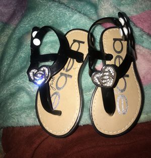 Bebe toddler sandals for Sale in Los Angeles, CA