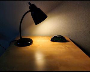 Table night lamp with alarm clock for Sale in Houston, TX