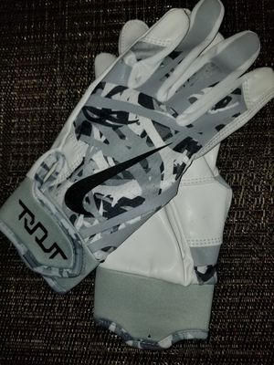 Brand New Nike Trout Edge White Camo Batting Gloves Adult Small, Medium, Large, XL Other colors posted for Sale in Baldwin Park, CA
