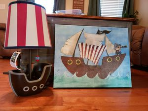Pirate room decor for Sale in Vale, NC