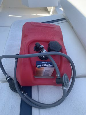 Boat 3 gallon fuel tank for Sale in San Diego, CA