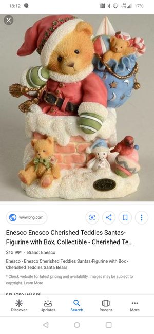 Cherished teddy for Sale in Belle Vernon, PA