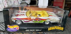Hot Wheels Collectibles 1965 Chevy Impala Toy Car Lowrider Magazine 1:18 scale for Sale in Fredericksburg, VA