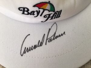 Bay Hill Hat With Arny Palmer Singature for Sale in Bloomington, IL