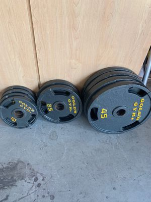 Olympic grip weights 270 pounds for Sale in Laveen Village, AZ
