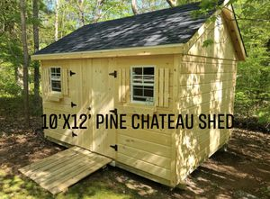 New 10' x 12' Pine Chateau Shed for Sale in Marblehead, MA