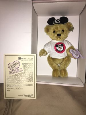 Annette Funicello Mouseketeer bear for Sale in Chesapeake, VA