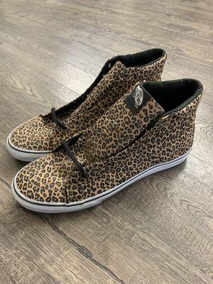 VANS SK8 Hi Leopard Cheetah Print /// Unisex Mens Size 9.5 for Sale in Puyallup, WA